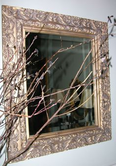 A pair of these mirrors replaced the typical large slabs that were in the master bathroom when we bought our house.