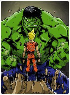 Hulk Smash goku?