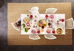 BJURSTA tafel | #IKEA #interieur #eettafel #tafelen #vloerkleed