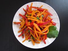 Spicy Sweet Carrot Salad - Budget Bytes