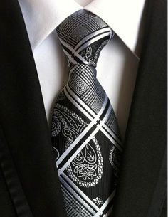 vintage mens fashion tie polyester silk necktie dress business gravata men ties plaid stripes casual suit with tie - On Trends Avenue