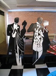 Roaring 20s Prom Decorations Flappers,