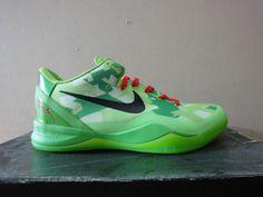Kobe Shoes 2013 Cheap For Sale Kobe VIII 8 Grinch Christmas $65.85 New Kobe Shoes, Kd 6 Shoes, Kevin Durant Basketball Shoes, Kevin Durant Shoes, Running Sneakers, Running Shoes, Sneakers Nike, Nike Lebron, Lebron 11