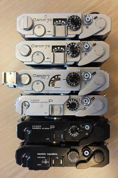 Canon rangefinders.