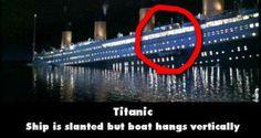 Titanic movie mistake