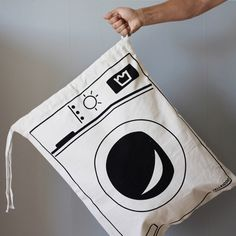 Washing clothes has never been so cheerful! Grab our Washing Machine Clothes bag in in our #WinterSale now!