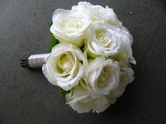 SILK Bouquet x1 Made from roses and rose by Keepsakebouquets