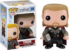 Thor - Thor 2: The Dark World - Thor Pop! Vinyl Bobble Head Figure by Funko