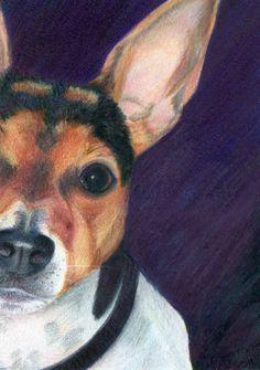"""""""Food?!?""""  Colored Pencil Art  Michelle Napier Lane"""