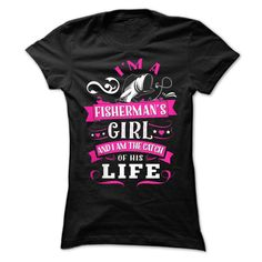 #tshirts... Nice T-shirts (Cool T-Shirts) Are you a fishermans woman? from MechanicTshirts  Design Description:   If you don't absolutely love this design, you will SEARCH your favorite one by means of using search bar on the header....