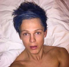 Truly blue or Facetuned?? Hmmmm...