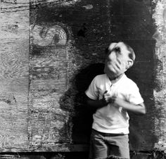 Ralph Eugene Meatyard, Untitled [with Halloween mask]. 1960s.