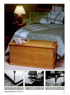 87 Best Blanket Chest Plans Hope Chest Plans Images