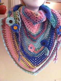 Check out this item in my Etsy shop https://www.etsy.com/listing/222958972/colorful-scarf