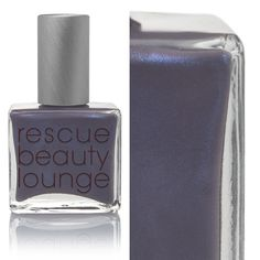Love this nail color in dusty gray with a hint of lilac.