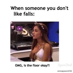 This totally something I would do! Ariana Grande rocks!