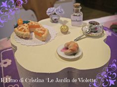 Bauletto portagioie con dolcetti decorativi in fimo