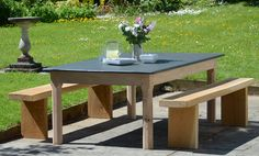 20 popular slate top tables images fine furniture farmhouse rh pinterest com