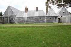 The Habitation, Annapolis; Champlain slept here.