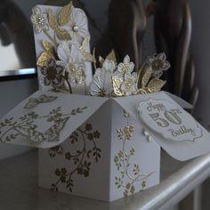 Card in a Box 50th Birthday Card - Linda Parker