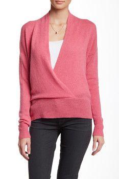 Cullen Deep V-Neck Cashmere Sweater
