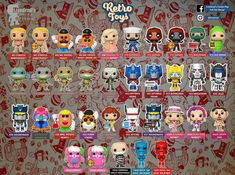 Funko Pop List, Funko Pop Display, Geek Room, Funko Toys, Retro Toys, Funko Pop Vinyl, Logan, Transformers, Charts