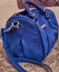 Bauletto Blu Benetton