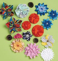M6047 | Fabric Flowers | Accessories | McCall's Patterns