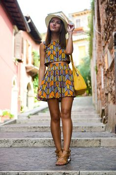 """The best ankara dress styles are absolutely top notch.African fashion with its ankara styles and lace styles popularly known as as """"asoebi"""" are here to stay. African Attire, African Wear, African Dress, African Style, African Print Fashion, African Fashion Dresses, Fashion Prints, Africa Fashion, African Outfits"""