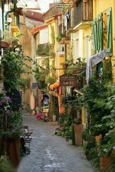 Streets of south France