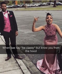 If that aint me. Prom Goals, Bae Goals, Prom Couples, Cute Couples, Quinceanera Dresses, Prom Dresses, Homecoming Outfits, Prom Pictures, Black Couples