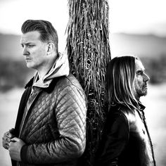 Josh Homme & Iggy Pop.