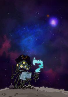 """Space Pirate"" @Dank #art #illustration"