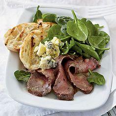 Rosemary-Dijon Grilled Steak Salad | Coastalliving.com