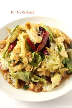 This is a quick and easy stir fry and a good use of a head of cabbage. To prepare for stir frying, I usually tear the cabbage with hands and remove all the tough ribs to ensurethe cabbage can be fully cooked in a short time, it is stir frying after all. You can save …