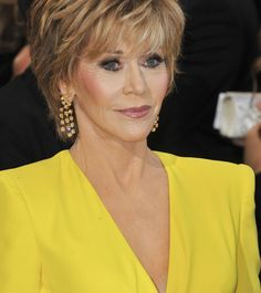 30 Best Jane Fonda Hairstyles Layered Hairstyle And Jane