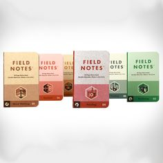 Field Notes Memo Books | Workshop