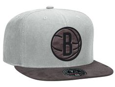 Dark Agent Brooklyn Nets High Crown Fitted Cap by NBA x MITCHELL & NESS