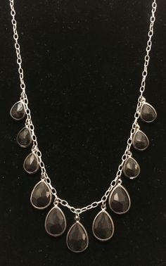 Teardrop Necklace by Rosie H. Creations