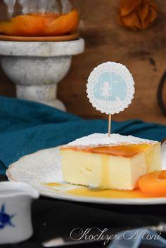 KochzereMoni: Ganz große Liebe! Cheesecake ohne Teigboden dafür mit Aprikosensoße