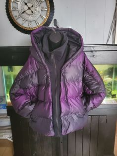 Very warm and super clean nike winter jacket. Hood is oversized for the coldest days air block. Nike Winter Jackets, Cold Day, Rain Jacket, Windbreaker, Women, Fashion, Moda, Fashion Styles, Fashion Illustrations