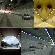 Misiryeong Tunnel, Gangwon Province, Korea - Misiryeong Tunnel opened to traffic on May 3, 2006. It is a twin bore tunnel of 3.69km in length and is part of the Misiryeong Penetrating Road. | 미시령 터널
