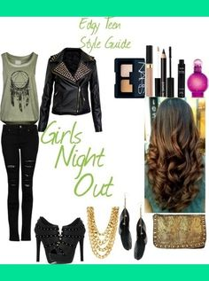 Edgy Teen Fashion Outfits | Added Aug 23, 2013
