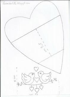 Lavanda e lilás: Galinhas Porta Sacos Sal Alphabet, desenhe Coração dos Namorados