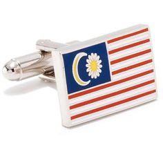 Rom/ânia Flag Cufflinks Personalised Engraved Keepsake Box