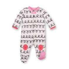 1e51ac35d1f2 Burt's Bees Baby Girls Pajamas Zip Front Non-Slip Footed Sleeper PJs 100%  6-9 #fashion #clothing #shoes #accessories #ba… | Boys' Clothing (Newborn-5T)  in ...