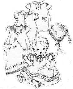 2108 best heirloom sewing images heirloom sewing girls dresses Girls Pinafore Pattern heirloom sewing patterns old fashioned baby pany baby doll clothes doll clothes patterns baby