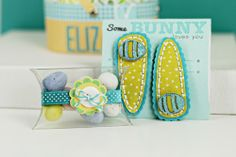 Easter Barrettes and Embellished Candy Box by Erin Lincoln for Papertrey Ink (February 2013)
