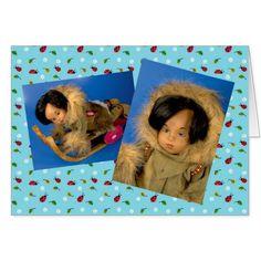 Sasha Morgenthaler Puppe Karte