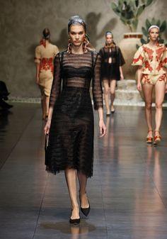 Dolce & Gabbana – Foto Gallery Sfilata Donna - Primavera Estate 2013